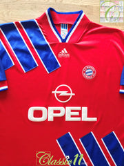 1993/94 Bayern Munich Home Football Shirt (XL)