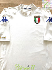 2000/01 Italy Away Football Shirt (L)