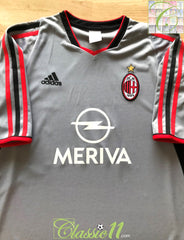 2003/04 AC Milan 3rd Football Shirt (XL)