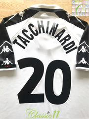 1998/99 Juventus Away Football Shirt Tacchinardi #20 (XL)