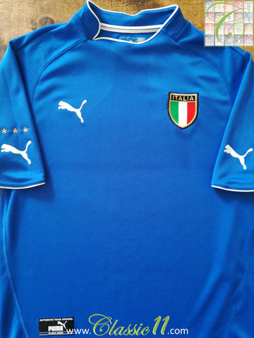 2003/04 Italy Home Football Shirt (M)