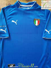 2003/04 Italy Home Football Shirt (L)