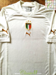 2004/05 Italy Away Football Shirt (XL)