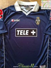2000/01 Juventus Away Football Shirt (XL)