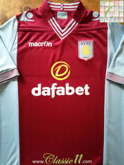 2013/14 Aston Villa Home Football Shirt (XL) *BNWT*