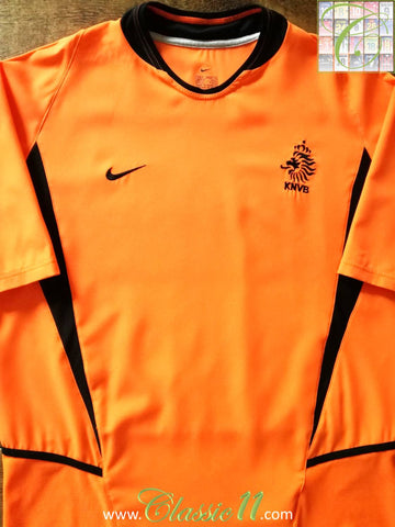 2002/03 Netherlands Home Football Shirt (M)
