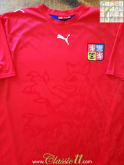 2006/07 Czech Republic Home Football Shirt (XL)
