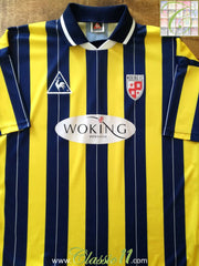 1995/96 Woking Home Football Shirt (XL)