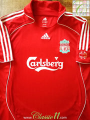 2006/07 Liverpool Home Football Shirt (B)