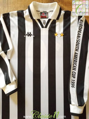 1996 Juventus Home Intercontinental Cup Final Football Shirt #10 (XL) *BNWT*