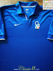 1998/99 Italy Home Football Shirt (XL)