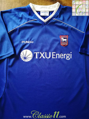 2001/02 Ipswich Town Home Football Shirt (XL)