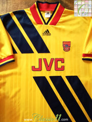 1993/94 Arsenal Away Football Shirt (M)