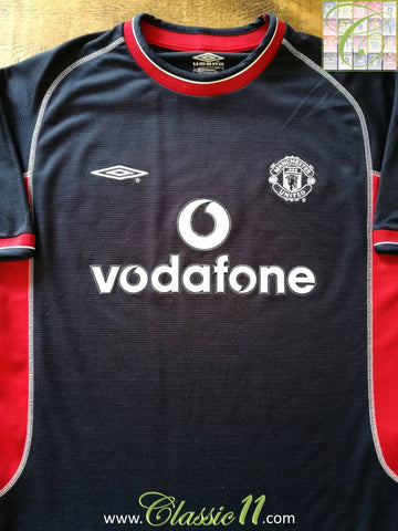 2000/01 Man Utd 3rd Football Shirt (XXL)