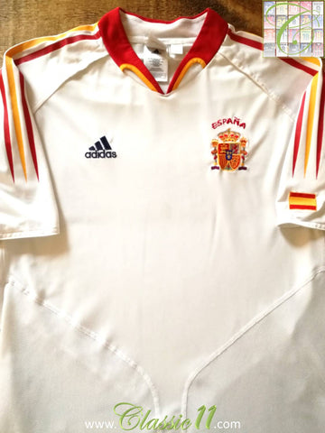 2004/05 Spain Away Football Shirt (L)
