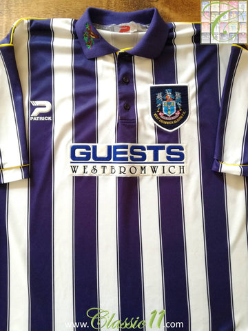 1995/96 West Bromwich Albion Home Football Shirt (M)
