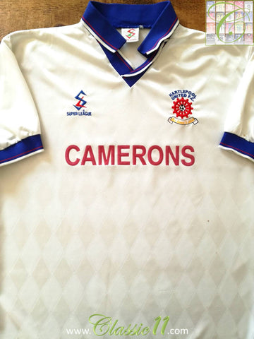 1997/98 Hartlepool United Away Football Shirt (L)