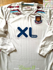 2007/08 West Ham Away Football Shirt (M)