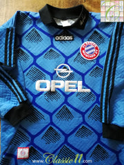 1996/97 Bayern Munich Goalkeeper Football Shirt (M)