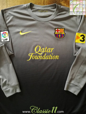 2012/13 Barcelona Goalkeeper La Liga Football Shirt (L)