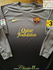 2012/13 Barcelona Goalkeeper La Liga Football Shirt (M)