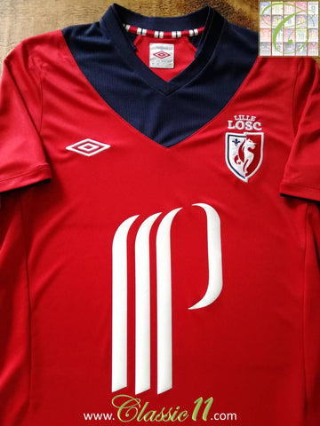 2012/13 Lille OSC Home Football Shirt (M)