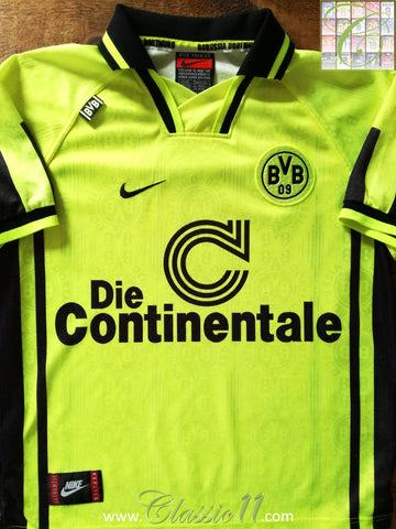 1996/97 Borussia Dortmund Home Football Shirt (L)