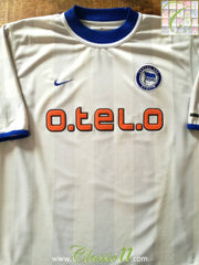 2000/01 Hertha Berlin Away Football Shirt (XXL)