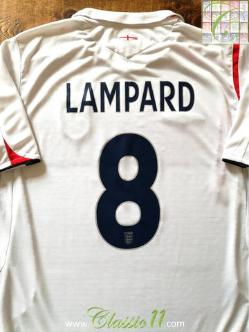 2005/06 England Home Football Shirt Lampard #8 (S)