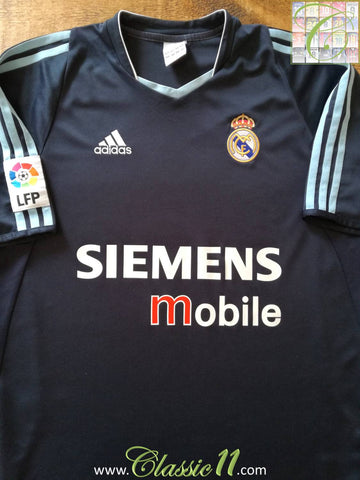 2003/04 Real Madrid Away La Liga Football Shirt (XL)