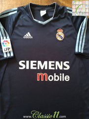 2003/04 Real Madrid Away La Liga Football Shirt (L)