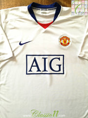 2008/09 Man Utd Away Football Shirt (XL)