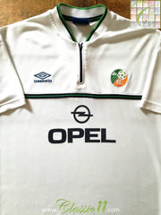 1999/00 Republic of Ireland Away Football Shirt (XL)