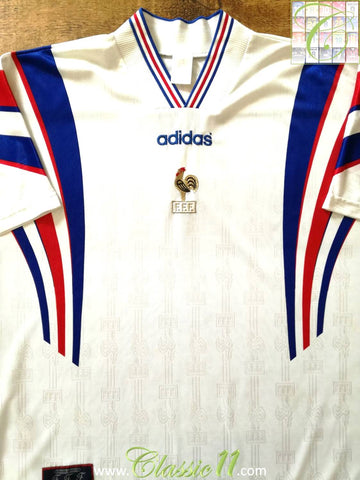 1996/97 France Away Football Shirt (S)