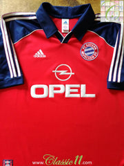 1999/00 Bayern Munich Home Football Shirt (XL)