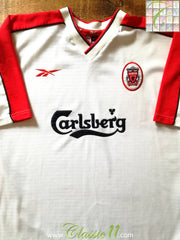 1998/99 Liverpool Away Football Shirt (M)