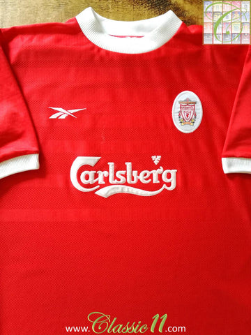 1998/99 Liverpool Home Football Shirt (XL)