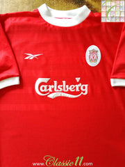 1998/99 Liverpool Home Football Shirt (Y)