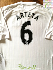 2007/08 Everton Away Premier League Football Shirt Arteta #6 (XL)