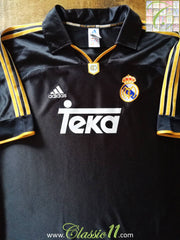 1999/00 Real Madrid Away Football Shirt (L)