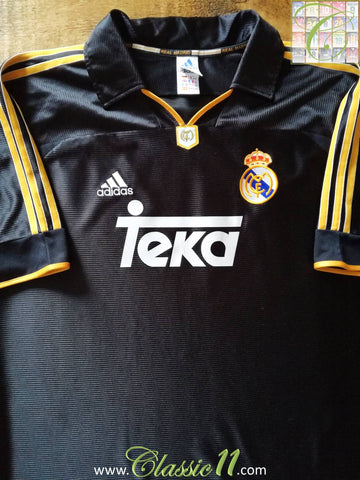 1999/00 Real Madrid Away Football Shirt (M)
