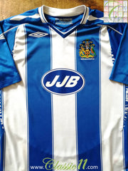 2007/08 Wigan Athletic Home Football Shirt (M)