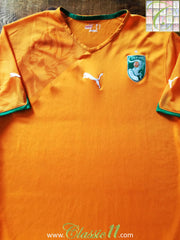 2010/11 Ivory Coast Home Football Shirt (L)