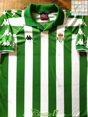 2000/01 Real Betis Home Football Shirt (L)