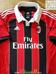 2012/13 AC Milan Home Football Shirt (L)