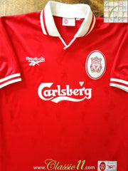 1996/97 Liverpool Home Football Shirt (Y)