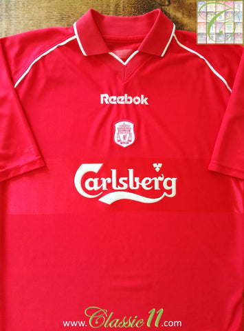 2000/01 Liverpool Home Football Shirt (XXL)