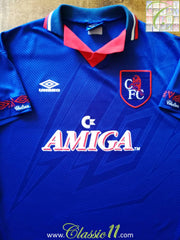 1993/94 Chelsea Home Football Shirt (L)