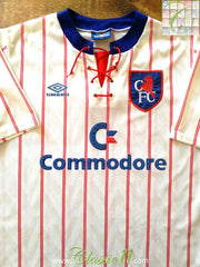 1992/93 Chelsea Away Football Shirt (L)