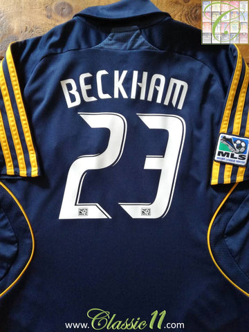 2008 LA Galaxy Away MLS Football Shirt Beckham #23 (M)